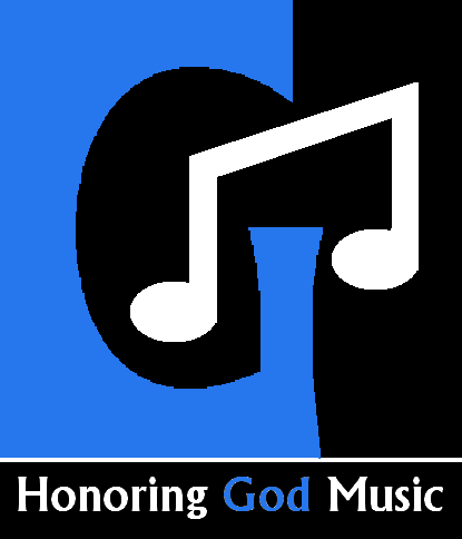 Honoring God Music logo on music arrangements page.